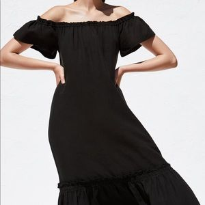 New with tags! Zara off the shoulders maxi dress